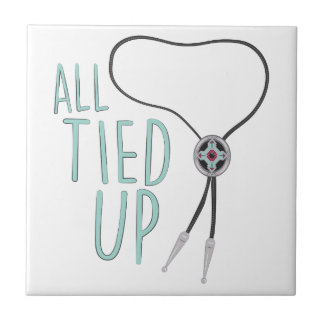 All Tied Up Ceramic Tile