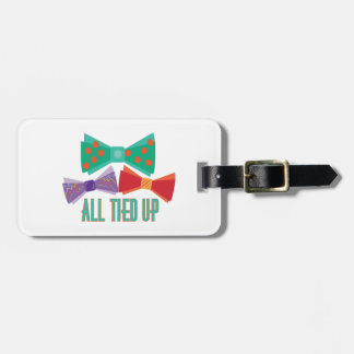 All Tied Up Luggage Tags