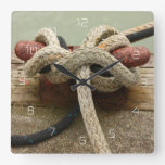 All Tied Up Wall Clock