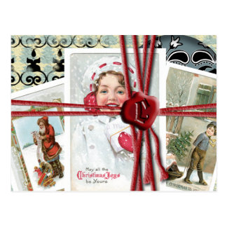 All tied up with String post card