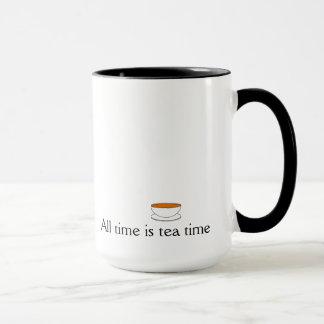 All time is tea time mug