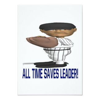 All Time Saves Leader Card