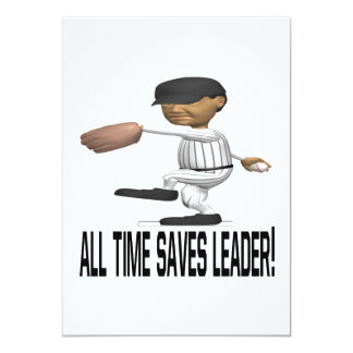 All Time Saves Leader Personalized Invites