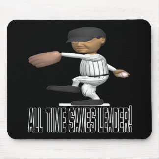 All Time Saves Leader Mouse Pad