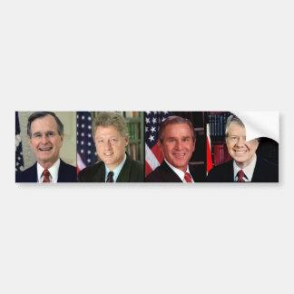 All Together /George H. W. Bush/Bill Clinton Car Bumper Sticker