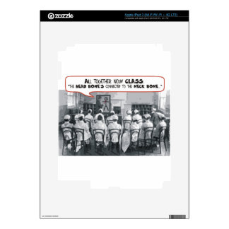 All Together Now Nursing Class iPad 3 Skins