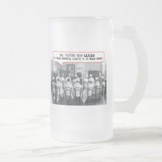 All Together Now Nursing Class 16 Oz Frosted Glass Beer Mug
