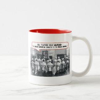 All Together Now Nursing Class Two-Tone Coffee Mug