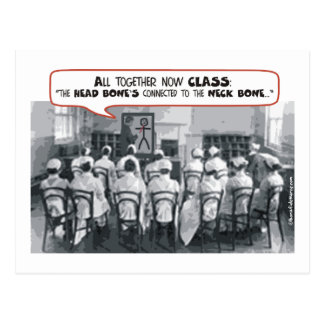 All Together Now Nursing Class Postcard