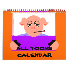 All Toons Calendar at Zazzle