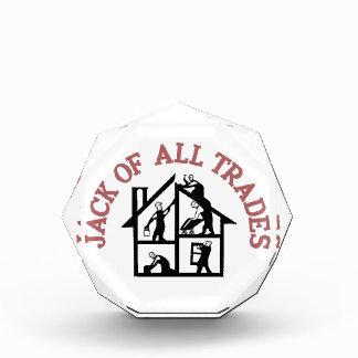 All Trades Acrylic Award