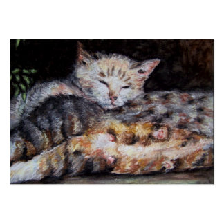 All Tuckered Out ACEO Art Trading Cards Large Business Cards (Pack Of 100)