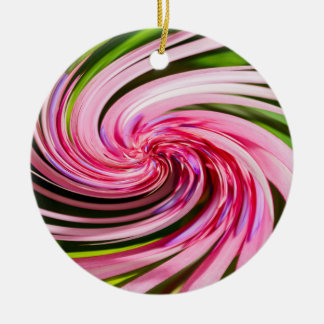 All Twisted Up Ceramic Ornament