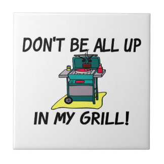 All Up In My Grill Ceramic Tile
