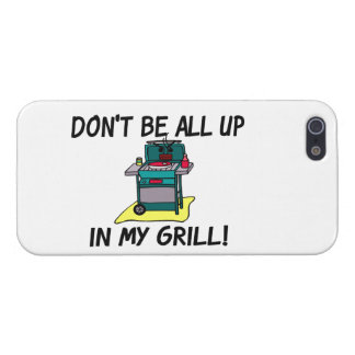 All Up In My Grill Cover For iPhone SE/5/5s