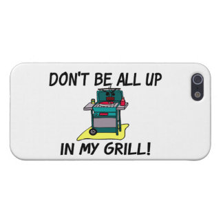 All Up In My Grill iPhone SE/5/5s Case