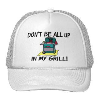 All Up In My Grill Trucker Hat
