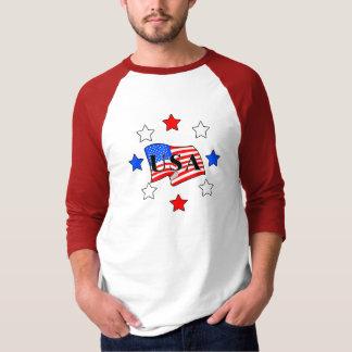 All USA Flag and Stars Shirt