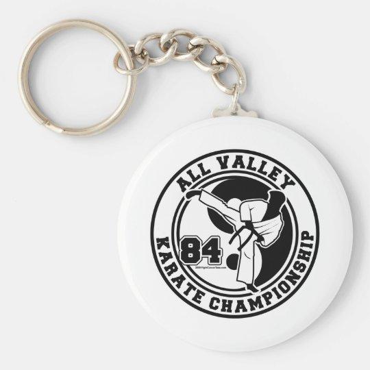 All Valley Karate Championship Keychain