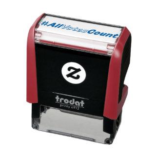 All Votes Count Custom Stamp Stamper