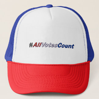 All Votes Count Trucker Hats