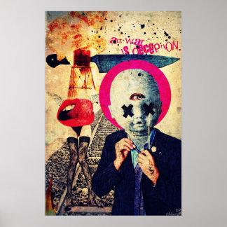 All War Is Deception Art Poster