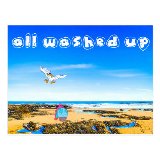 All Washed Up - A year spent on Seaham Beach Postcard