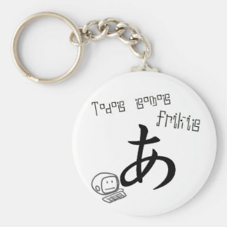 All we are frikis keychain