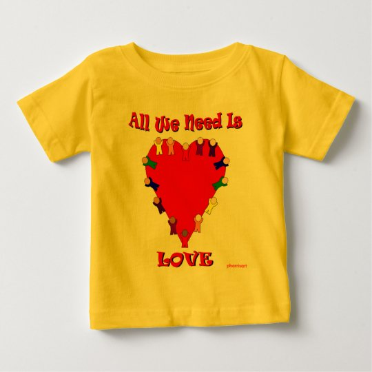 All We Need Is Love Infant Creeper