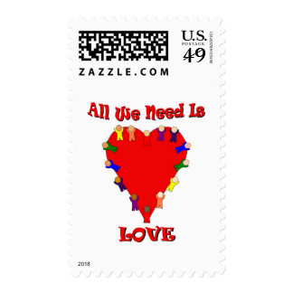All We Need Is Love Postage
