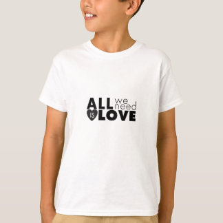 All We Need Is Love tee
