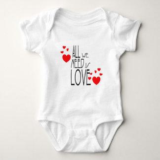 all we need is love tshirt