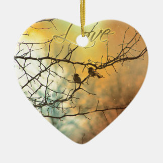 All We Need Is Us - A Card for someone Special Ceramic Ornament