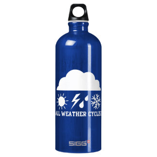 All Weather Cyclist Aluminum Water Bottle
