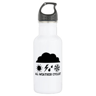 All Weather Cyclist Stainless Steel Water Bottle