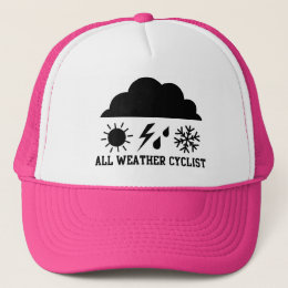 All Weather Cyclist Trucker Hat