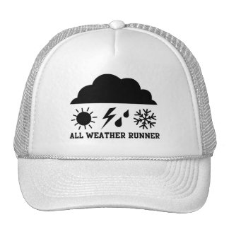 ALL WEATHER RUNNER TRUCKER HAT