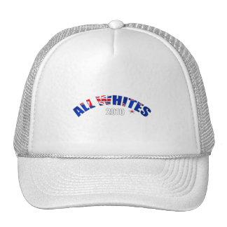 All Whites 2010 flag of New Zealand Trucker Hat