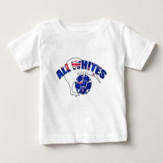 All Whites 2010 graphic artwork kiwi Baby T-Shirt