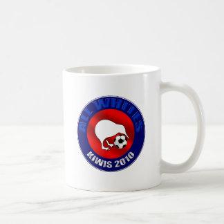 All Whites Kiwi 2010 football fans shirts and gift Coffee Mug