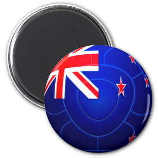 All Whites - New Zealand Football 2 Inch Round Magnet