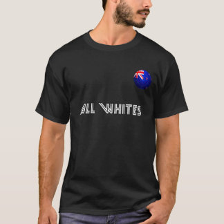 All Whites - New Zealand Football T-Shirt