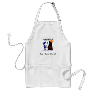 All Who Shuffle...are not board! Adult Apron