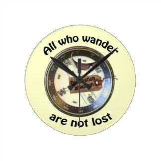 All who wander clock