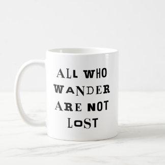 All Who Wander Coffee Mug