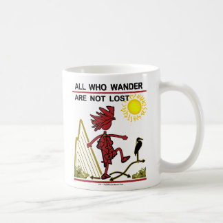 All Who Wander & Dream Mug