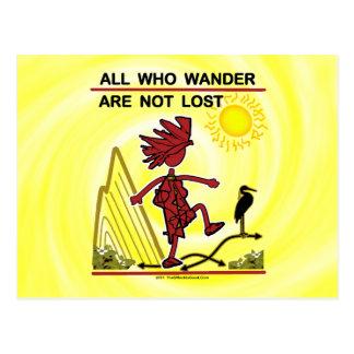 All Who Wander & Dream Postcard