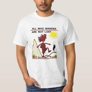 All Who Wander & Dream T-shirt