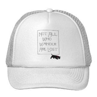 All who wander . . . Scotties, too! Trucker Hat