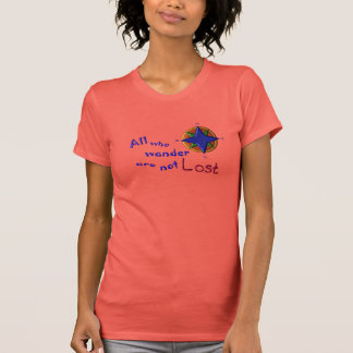All who wander t shirt